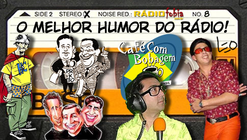 O Melhor Humor do Rádio #74 – Café com Bobagem IX – Aulas de Ingrêis 05