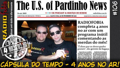 RADIOFOBIA 106 – Cápsula do Tempo: 4 anos no ar!