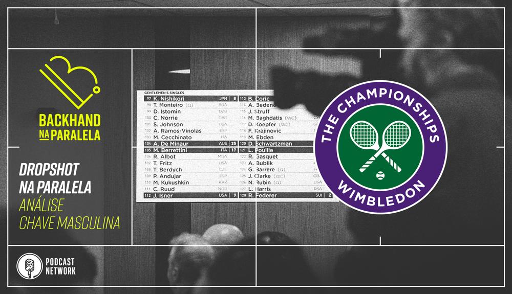 Backhand na paralela – Dropshot na Paralela Wimbledon – Análise da Chave Masculina