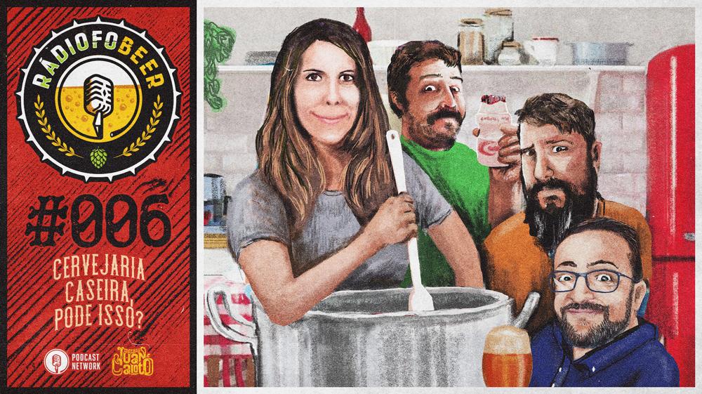 RádiofoBeer #006 – Cervejaria caseira, pode isso?