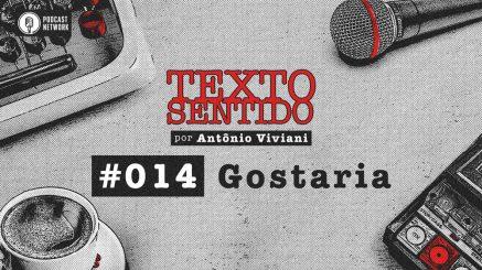 TEXTO SENTIDO 014 – Gostaria