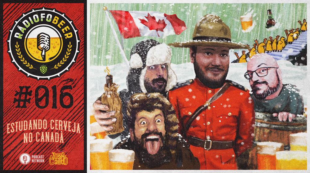 RádiofoBeer #016 – Estudando cerveja no Canadá